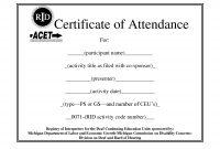 Ceu Certificate Template  Sansurabionetassociats with Continuing Education Certificate Template