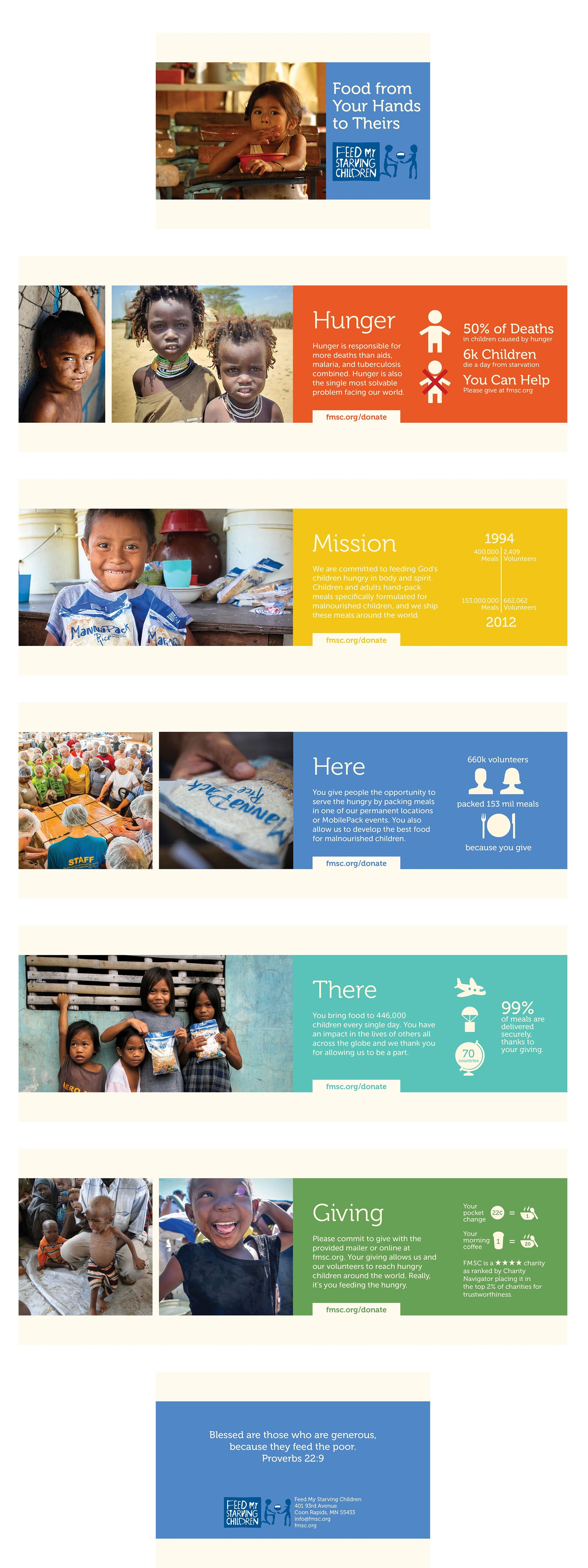 Charity Brochure For Feed My Starving Children Project For Graphic Intended For Ngo Brochure Templates