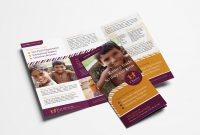 Charity Trifold Brochure Template  Psd Ai  Vector  Brandpacks intended for Welcome Brochure Template