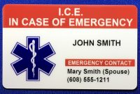 Cheap Emergency Card Template Find Emergency Card Template Deals On regarding In Case Of Emergency Card Template