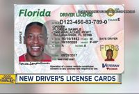 Check Out Florida's New Driver's Licenses And Id Cards  Youtube for Florida Id Card Template