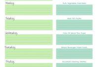 Chefevelyn Weekly Meal Planner Printables Pinterest For Dinner in Weekly Dinner Menu Template