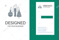 Chemical Dope Lab Science Grey Logo Design And Business Card intended for Dope Card Template