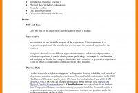 Chemistry Lab Report Example  Meetpaulryan regarding Lab Report Template Chemistry