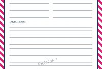Chevron Recipe Sheet Editable  School Binder Wallpaper  Printable in Cookie Exchange Recipe Card Template
