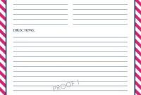 Chevron Recipe Sheet Editable  School Binder Wallpaper  Printable intended for Fillable Recipe Card Template