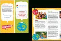 Child Care Brochure Template   Child Care Owner within Daycare Brochure Template