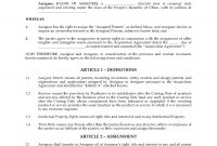 China Patent Assignment Agreement Form  Legal Forms And Business with regard to Invention Assignment Agreement Template