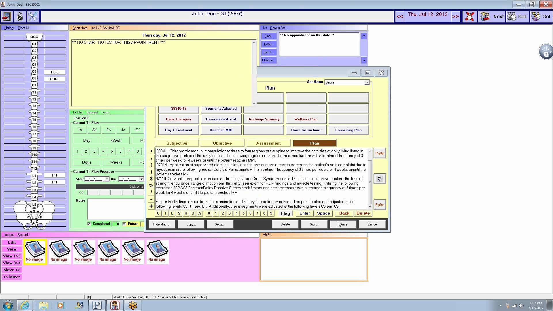 Chirotouch Emr Software  Reviews  Pricing  Ehrreviews For Chiropractic Travel Card Template