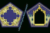 Chocolate Frog Cardlittlefallingstar On Deviantart in Chocolate Frog Card Template