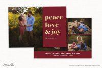 Christmas Card Template For Photographers Cc within Holiday Card Templates For Photographers