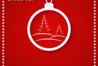 Christmas Card Template Royalty Free Vector Image regarding Adobe Illustrator Christmas Card Template