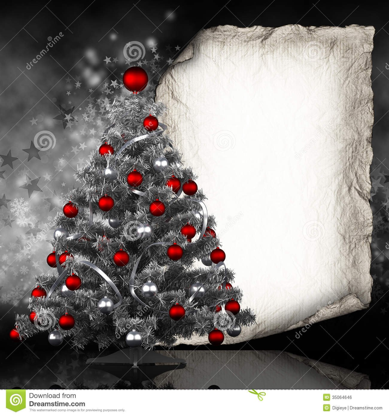 Christmas Card Template Stock Illustration Illustration Of Ball With Regard To Blank Christmas Card Templates Free