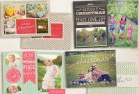 Christmas Card Templates Bundle  Ccbundle inside Free Christmas Card Templates For Photographers