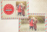 Christmas Card Templates Vol Cc    Thavenue with regard to Free Photoshop Christmas Card Templates For Photographers