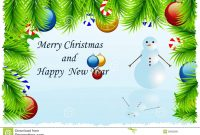 Christmas Cards Templates Free Downloads Template Ideas Greeting intended for Blank Christmas Card Templates Free