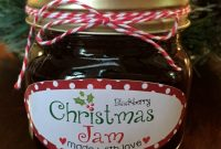 Christmas Jam Labels  Customer Ideas  Onlinelabels pertaining to Chutney Label Templates