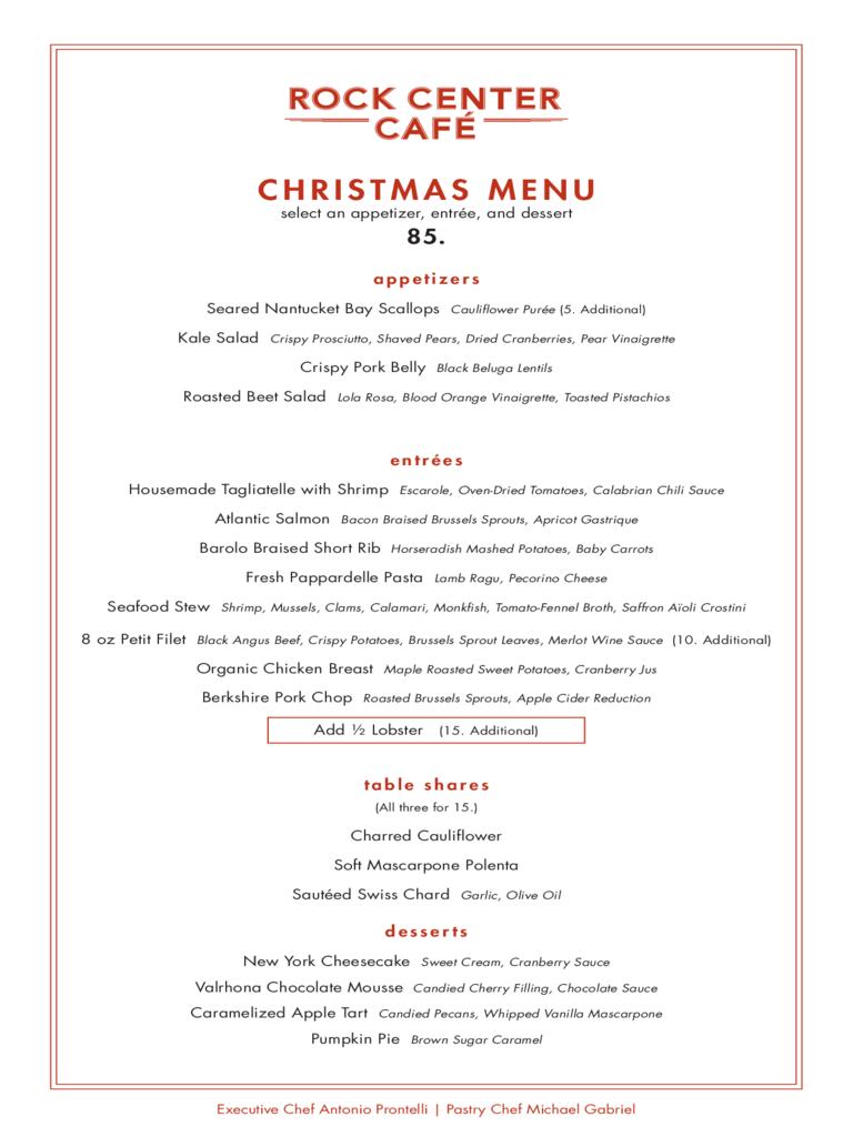 Christmas Menu Template  Fillable Printable Pdf  Forms Pertaining To Christmas Day Menu Template