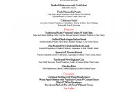 Christmas Menu Template   Free Templates In Pdf Word Excel Download throughout Christmas Day Menu Template
