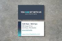 Church Invite Card Editable Printable Business Cards  Etsy throughout Church Invite Cards Template