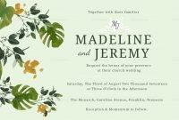 Church Wedding Invitation Design Template In Psd Word Publisher regarding Church Wedding Invitation Card Template