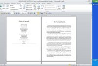 Cjs Easy As Pie Kindle Tutorials Kindle Tips Create A Clean Ms throughout Microsoft Word Table Of Contents Template