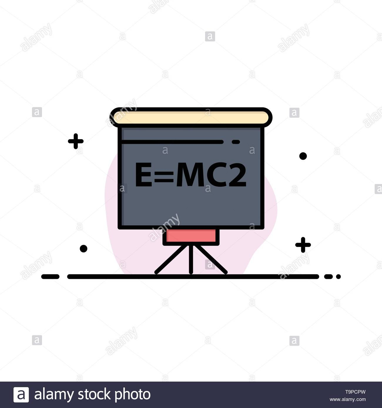 Classroom Teacher Board Education Business Flat Line Filled Icon Inside Classroom Banner Template