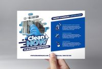 Cleaning Service Flyer Template In Psd Ai  Vector  Brandpacks Inside Flyers For Cleaning Business Templates