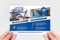 Cleaning Service Flyer Template In Psd Ai  Vector  Brandpacks With Regard To Flyers For Cleaning Business Templates