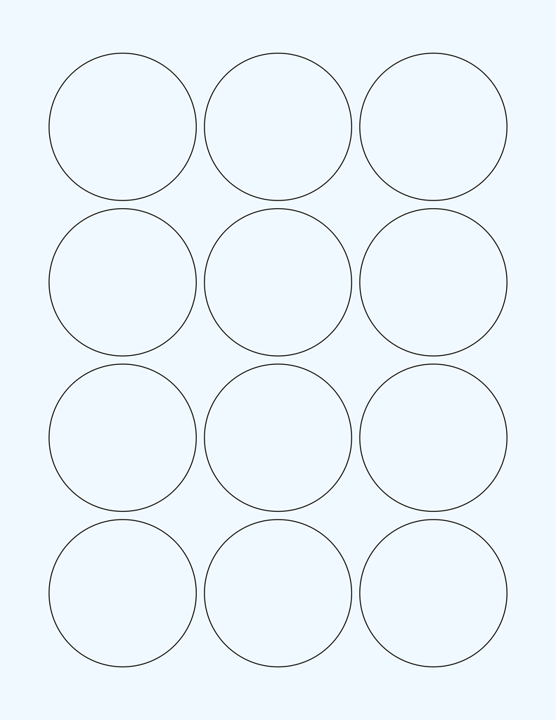 """Clear Glossy Labels  """" Circle G   Wholesale Supplies Plus Regarding Template For Circle Labels"""