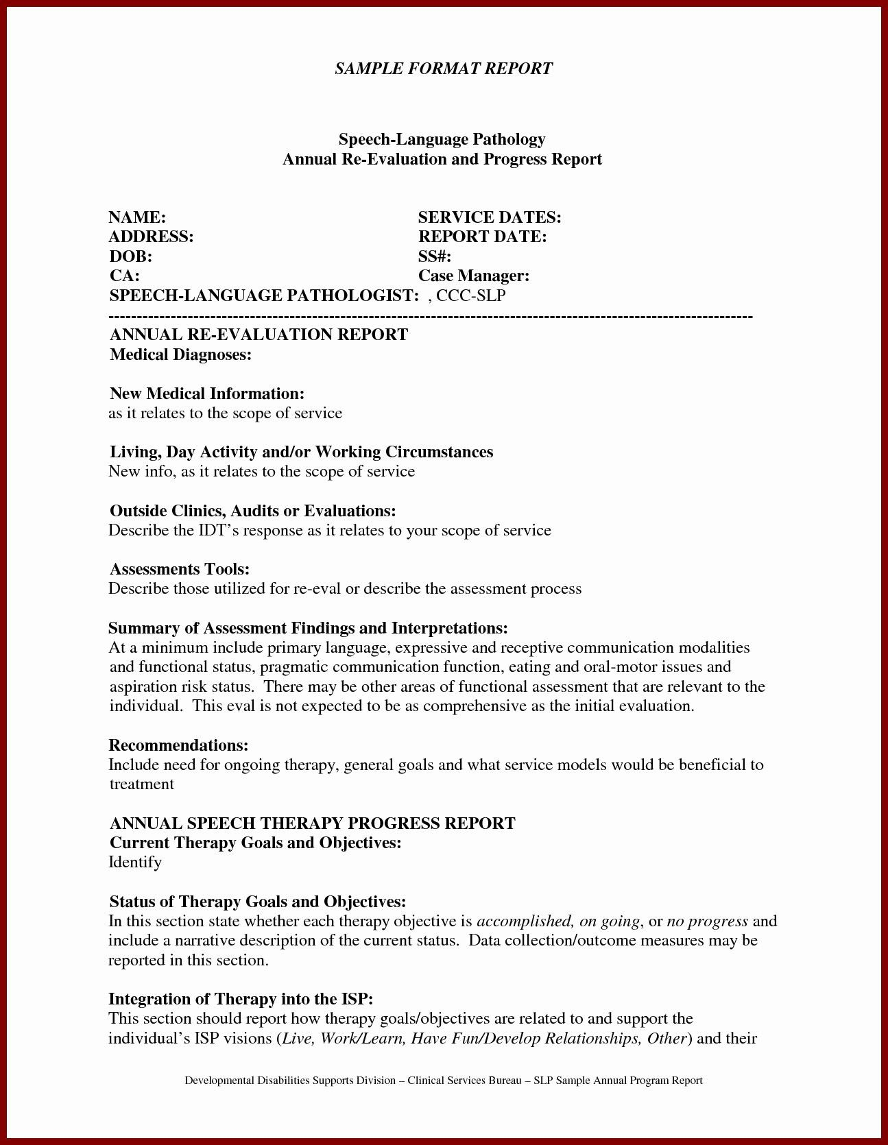 Clinical Evaluation Report Template  Glendale Community Regarding Monitoring And Evaluation Report Writing Template