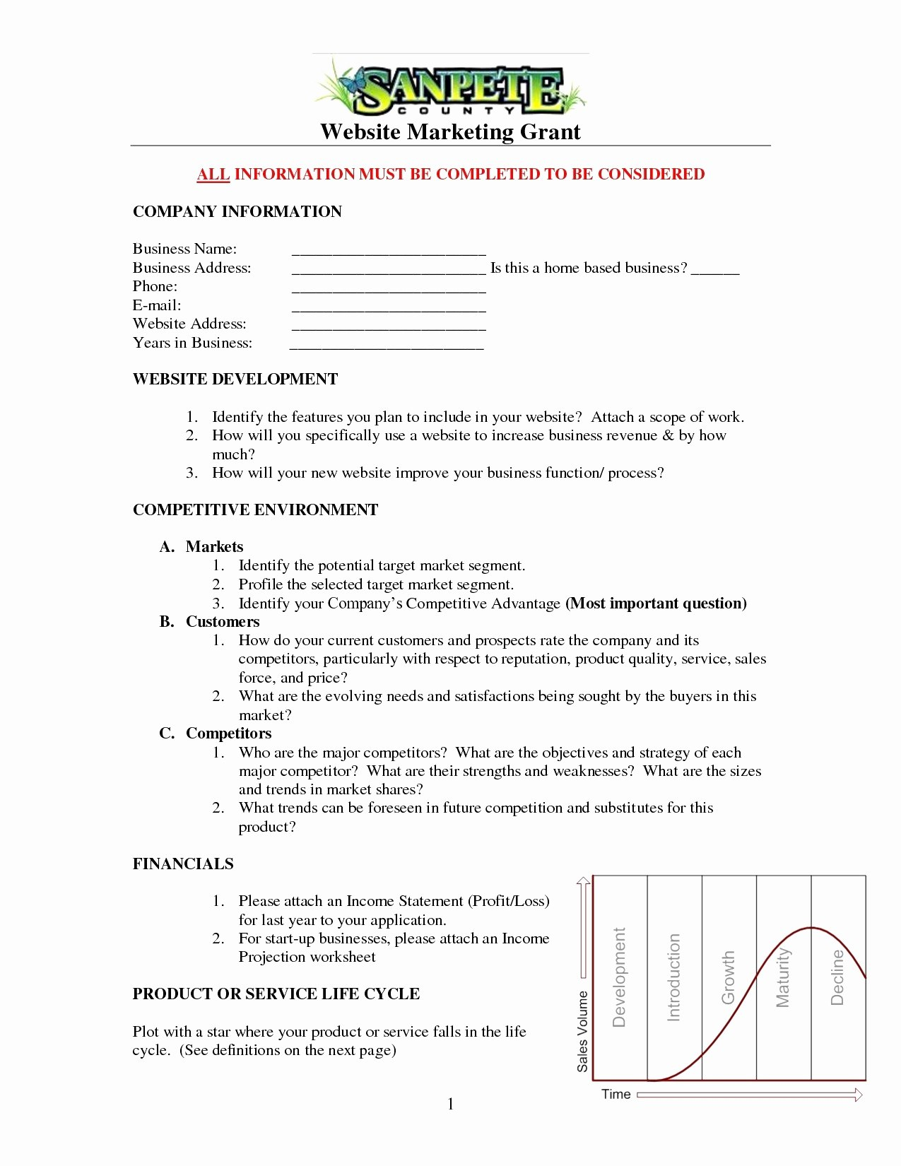 Clothing Store Business Plan Template Free – Guiaubuntupt Intended For Online Store Business Plan Template