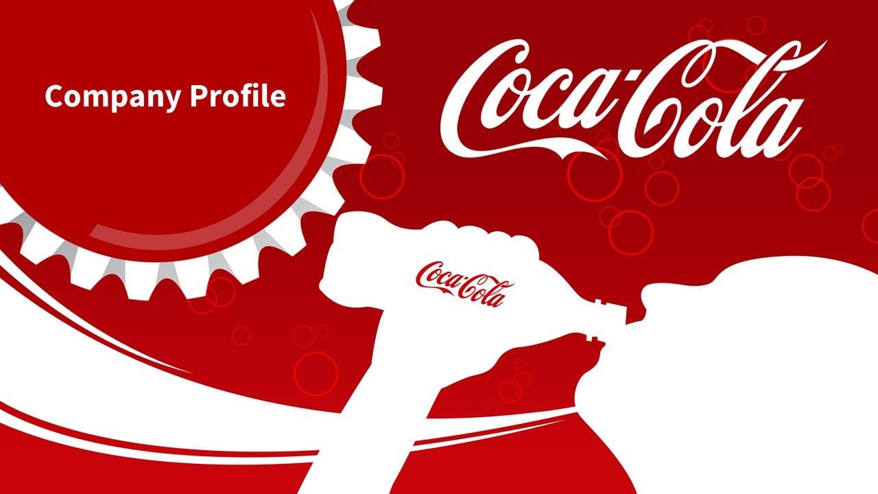 Coca Cola  Slidegenius Powerpoint Design  Pitch Deck Presentation Regarding Coca Cola Powerpoint Template