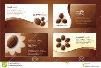 Coffee Business Card Template Stock Vector  Illustration Of in Coffee Business Card Template Free