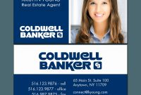 Coldwell Banker Real Estate Business Cards Beautiful Coldwell Banker with regard to Coldwell Banker Business Card Template