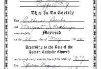 Collection Of Solutions For Roman Catholic Baptism Certificate inside Roman Catholic Baptism Certificate Template