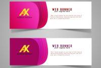Colorful Web Banner  Free Download Psd Web Banner Design inside Website Banner Templates Free Download