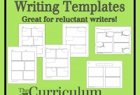 Comic Strip Writing Templates  The Curriculum Corner within Printable Blank Comic Strip Template For Kids