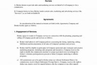 Commission Sales Agreement Template Free Ideas Co Broker for Free Commission Sales Agreement Template