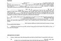 Common Law Separation Agreement Template Bc  Sampletemplatess with regard to Common Law Separation Agreement Template