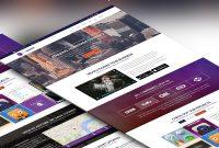 Company Portfolio Website Template Free Psd  Download Free Psd in Business Website Templates Psd Free Download