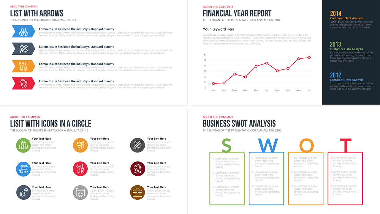 Company Profile Powerpoint Template Free  Slidebazaar For Business Profile Template Ppt