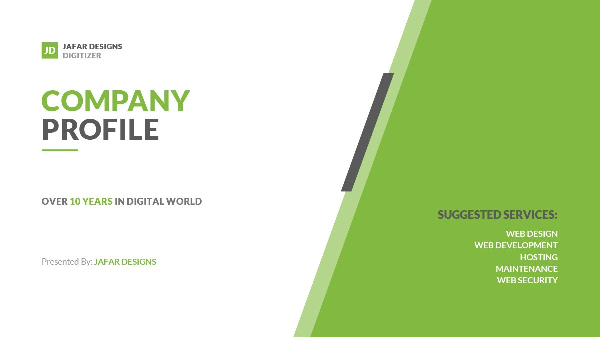 Company Profile Powerpoint Template With Business Profile Template Ppt