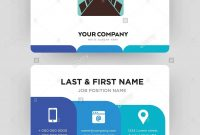 Conference Room Business Card Design Template Visiting For Your intended for Conference Id Card Template