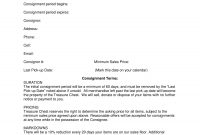 Consignment Agreement Examples  Pdf Doc  Examples within Simple Consignment Agreement Template