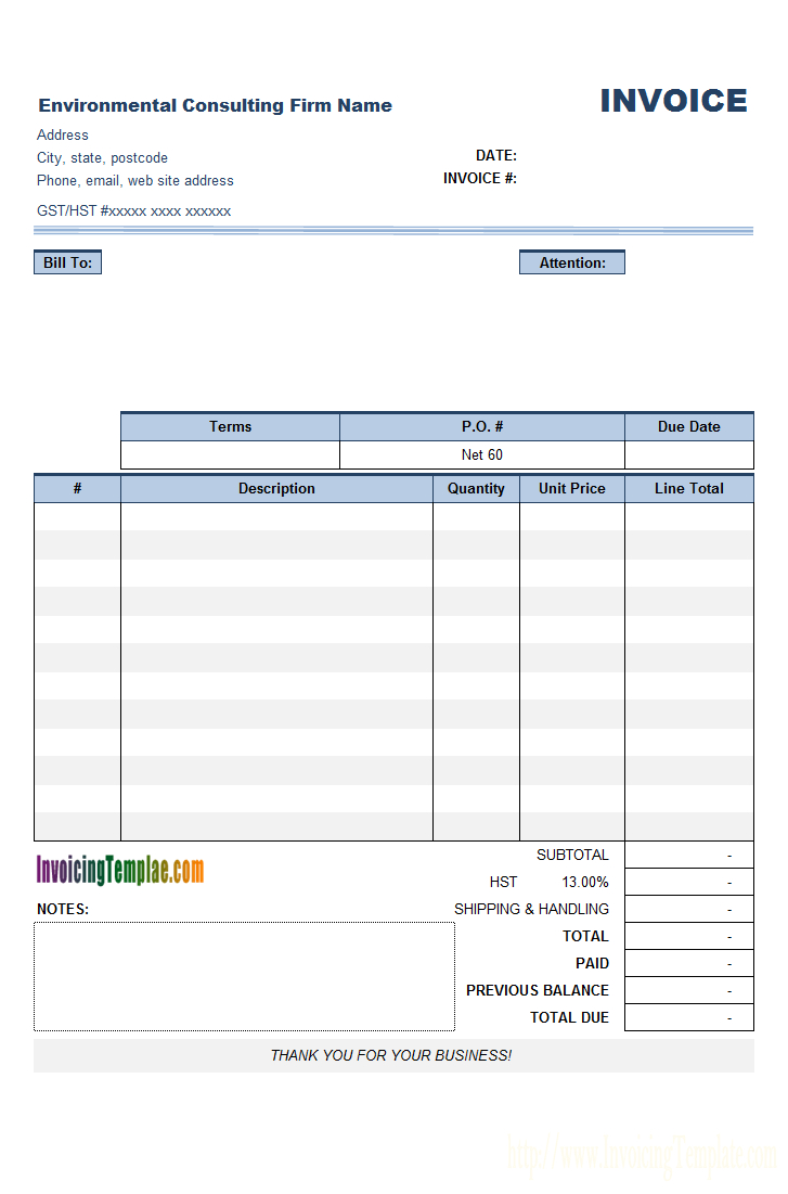 Consulting Invoice Template Pertaining To Software Consulting Invoice Template