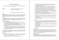 Consumer Loan Agreement Template – Microsoft Word Templates Regarding Free Installment Loan Agreement Template