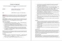 Consumer Loan Agreement Template – Microsoft Word Templates with Business Loan Agreement Template