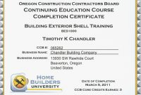 Continuing Education Beautiful Continuing Education Certificate within Continuing Education Certificate Template