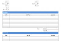 Contractor Invoice Templates Free   Results Found regarding Contract Labor Invoice Template